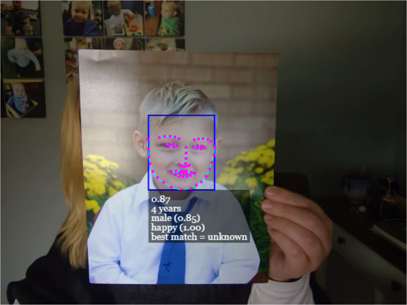 Tricking Facial Recognition