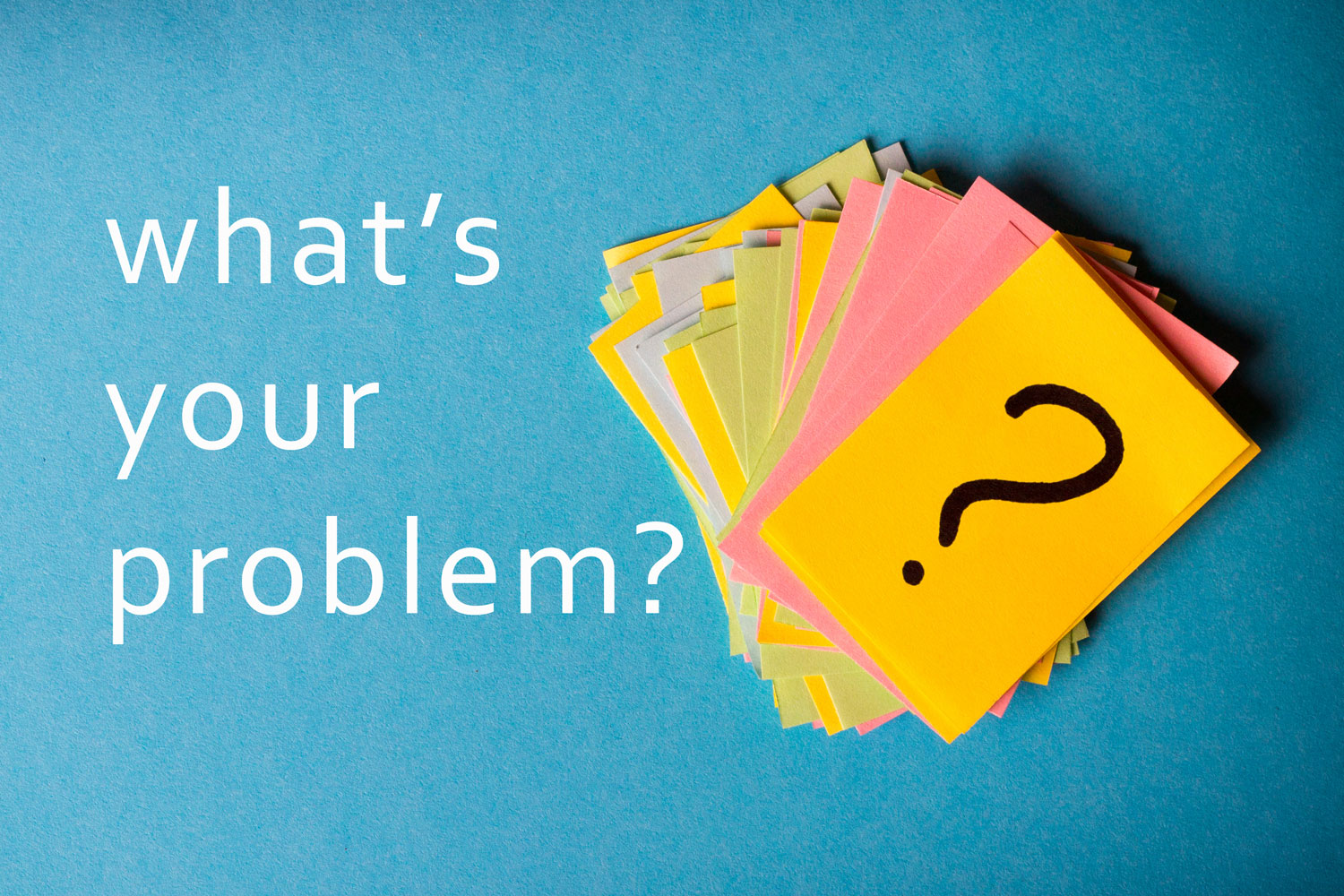 what's your problem post-its