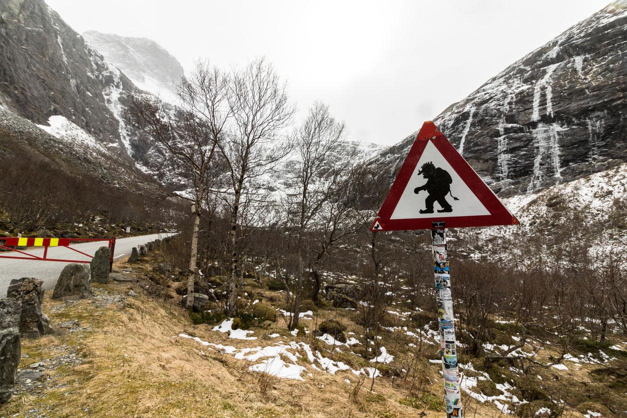 Troll Bridge in Norway
